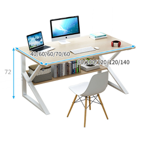 Modern Style Office Furniture Wooden Office Table Computer Table Gaming Desk Laptop Table