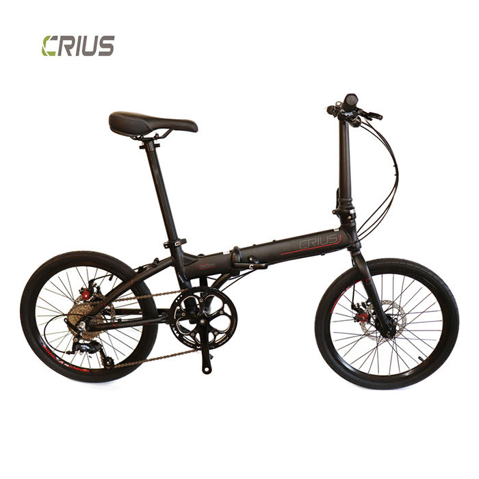 Crius 20 inch master D mini aluminum alloy light weight foldable bike 9 speed