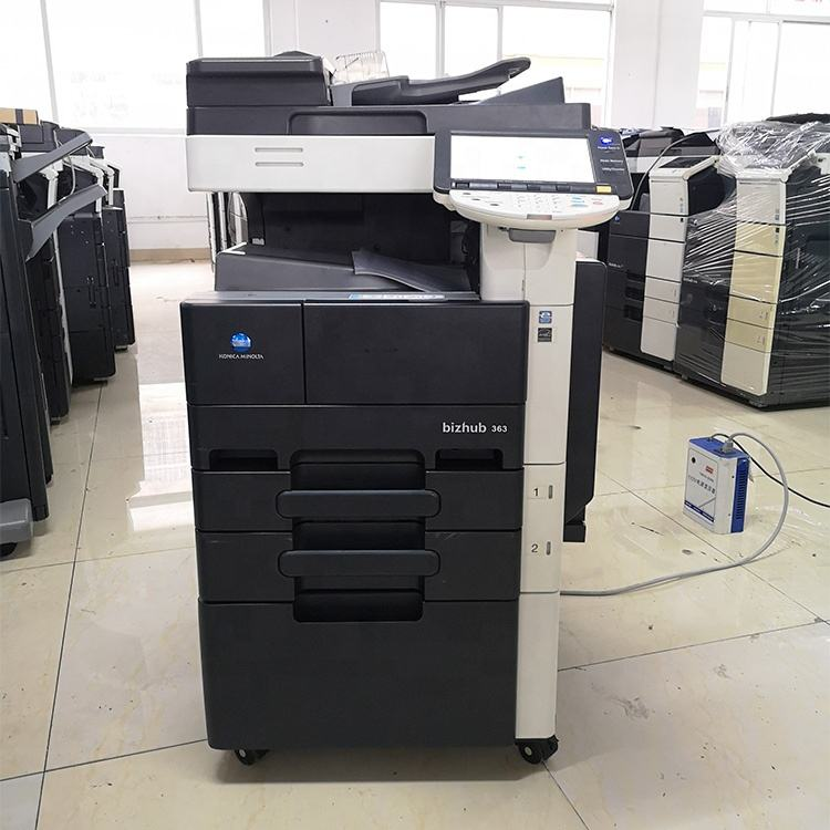 Laser printers photocopiers for Konica Minolta Bizhub423 363 283 Export used copiers for Hot sale