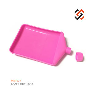 PopTings Hot Sale tools jewelry Craft Tidy Tray MKT027 Funnel Tray in Pink