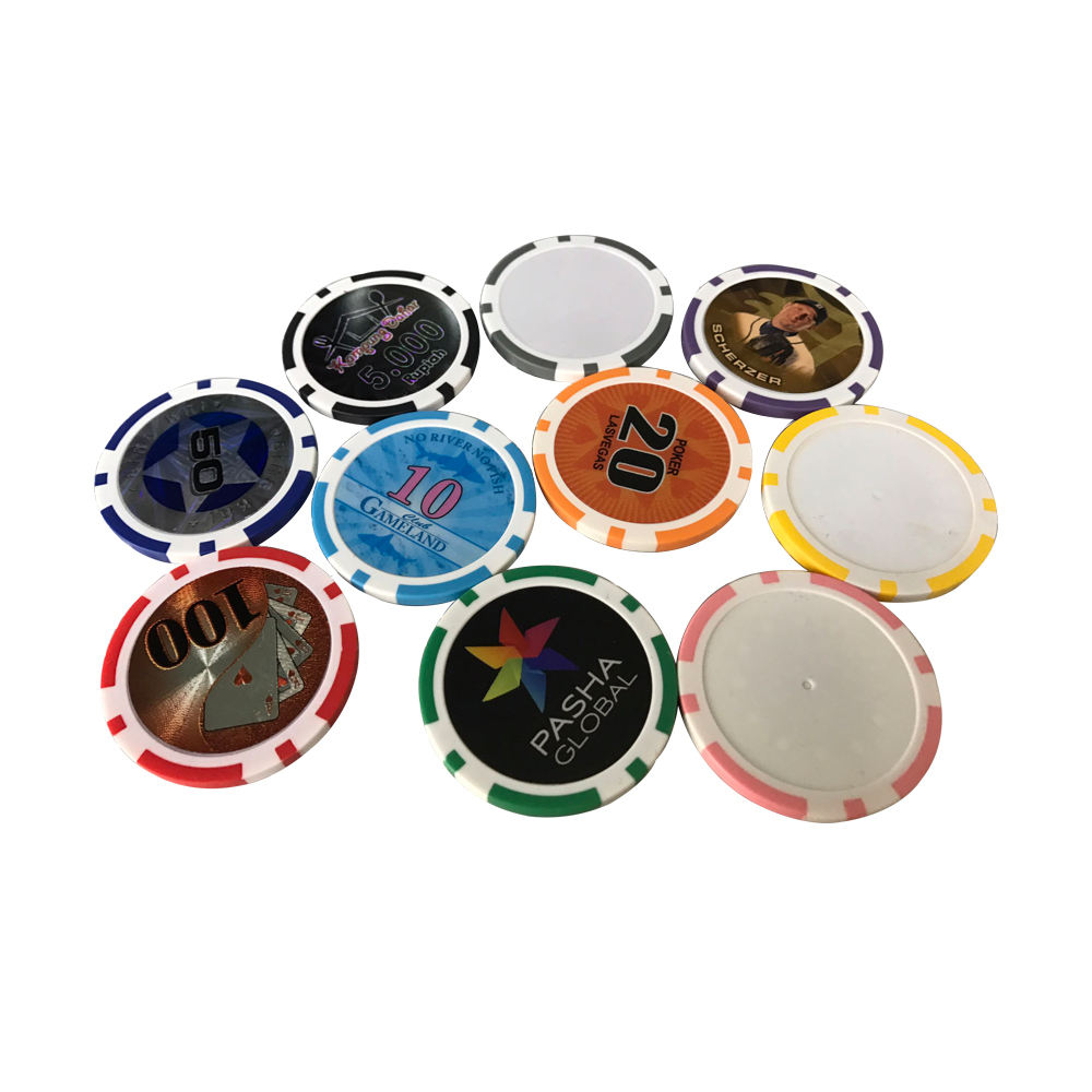 Wholesale Professional Customized Plastic Poker Chips For Gambling
