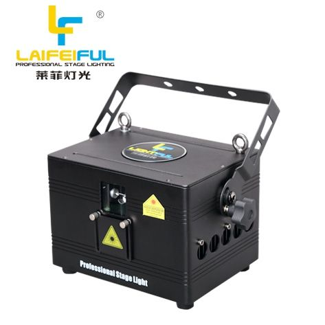 RGB disco laser projector Night club laser light show sound system