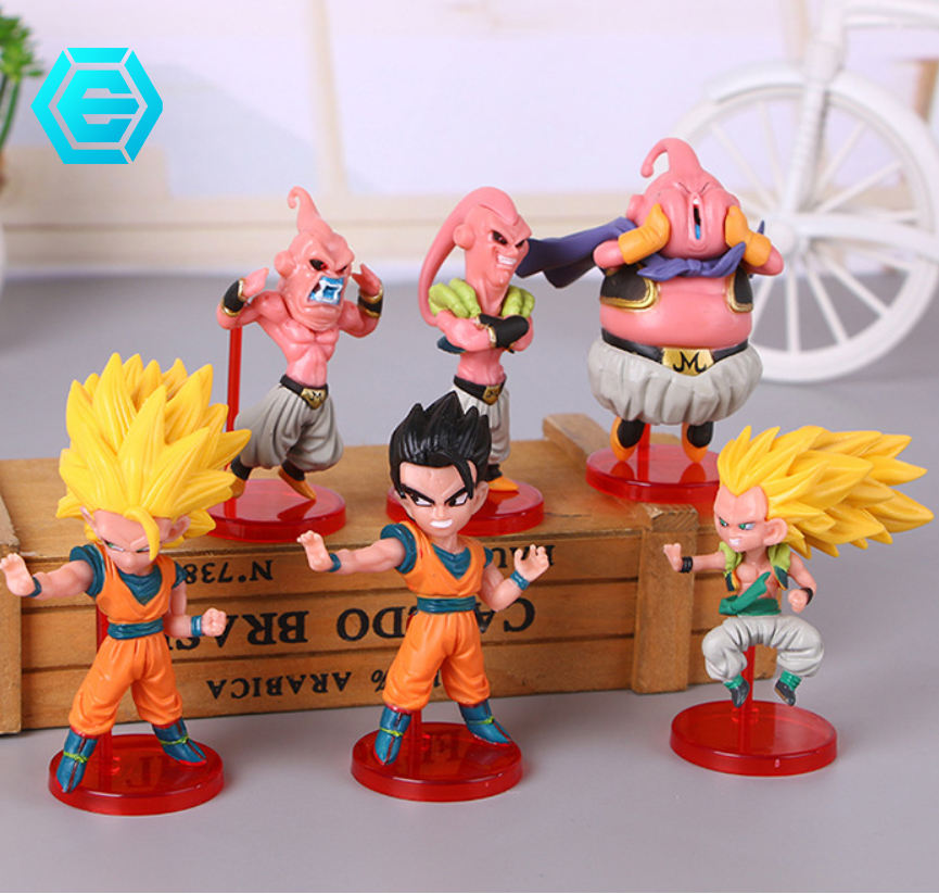 Hot Koop Anime Dragon Ball Z Super Saiyan Goku Action Figures Speelgoed