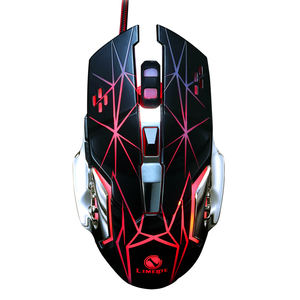 Hot Sale LEMEIDE V3 Wired USB Breathing Backit Gaming Skins For Computer Mouse