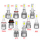 High Power Super Bright low Beam Led Headlight bulbs H4 H7 led,Auto Car 881 H13 H1 H3 9005 9006 880 H11 H7 H4 C6 Led Headlight