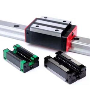 C grade low noise smoothly sliding linear guide rail and block slider from Lishui which can replace HIWIN linear guide rail