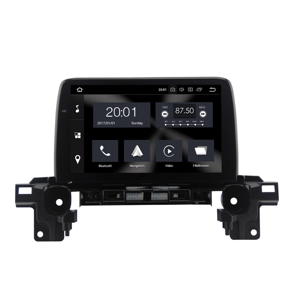 Android 9.0 full touch PX6 4G 64G voiture dvd Radio stéréo pour Mazda CX5 CX-5 Radio 2013-2016 multimédia gps navigation