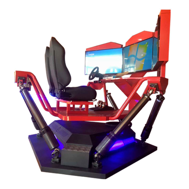 Leader game New product Attractive hot sale amusement park happy VR racing car simulator ride driving car racing game