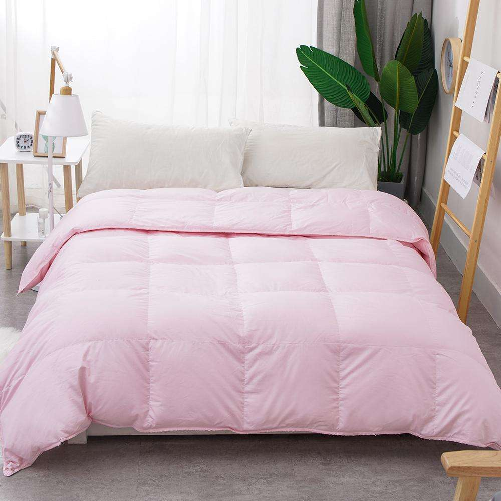 customised size and color luxury duvet down duvet goose feather duvet
