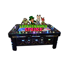 2/4/6/8/ 10 players table game 55 or 85 inch fish game slot novel newest leprechauns strike fish table gambling machine for sale