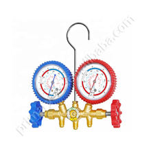 Refrigeration tool pressure gauge parts bar & good quality refrigeration manifold customized brass manifold sets