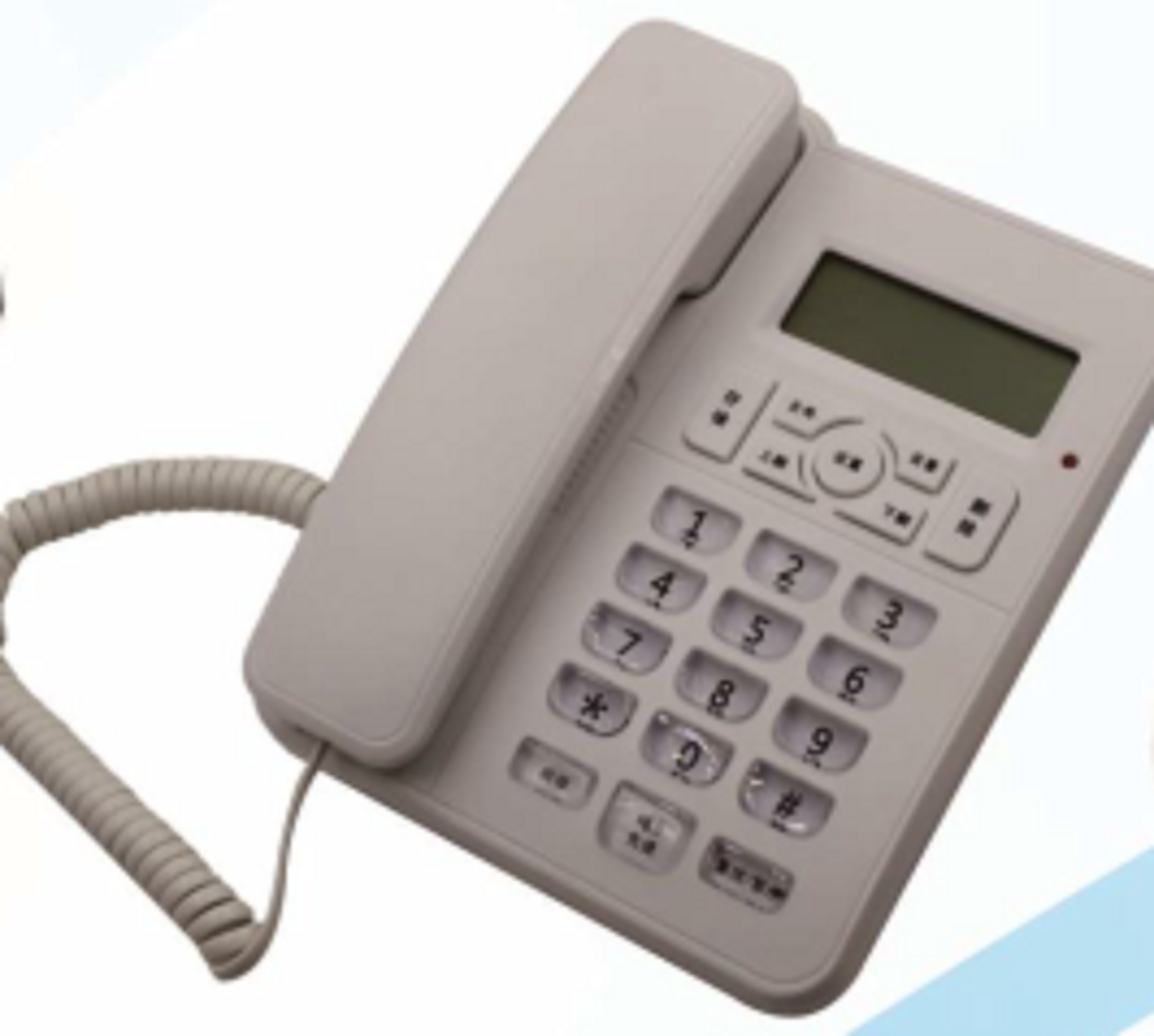 Hot Sale Caller ID Corded Telepon LCD Display Telepon Analog