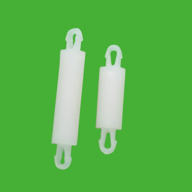 ROHS Nylon teardrop snap lock two prong snap lock Metric Spacing Supports 2.5mm diametes DS-16 Thickness1.2-18.