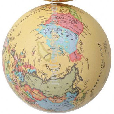 Best selling Excellent quality world globes with led light with differen size