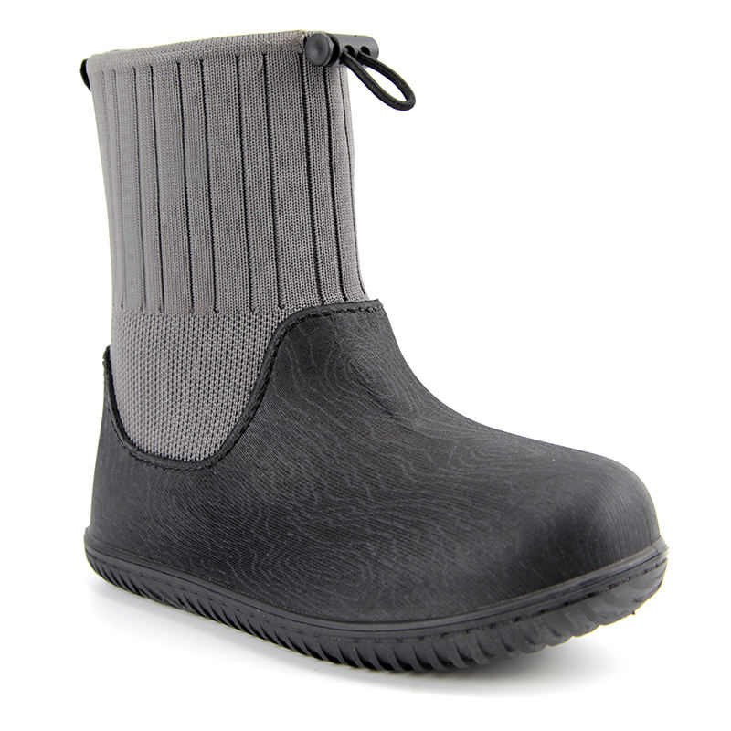 High-Quality Slip-On Waterproof Cheap Kids Rain Rubber Sole Shoes Rain Insulated Boots