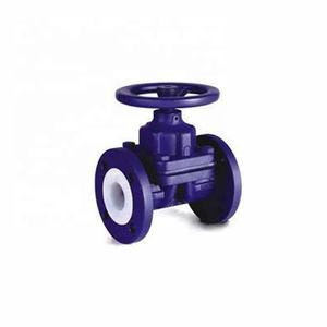 150LB Straight Through Type Diaphragm Valve