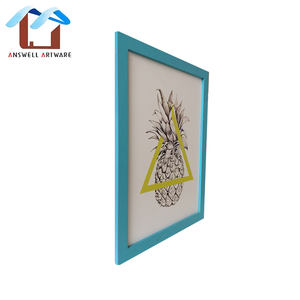 Home Decoration Bulk Colorful Wooden Picture Photo Frame