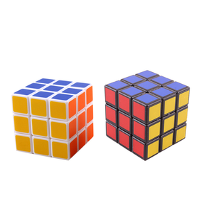Speed Rubics Cube 3 3 Plastic Magic Cube Puzzle Toys Puzzles Education Toys For Children Adult