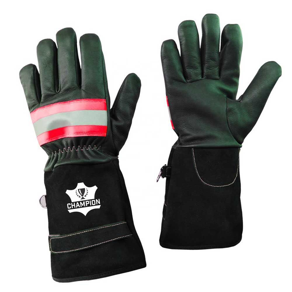 Manufacturers Direct Low Price Flame Resistant FireProof Fighting Gloves for FireFighting