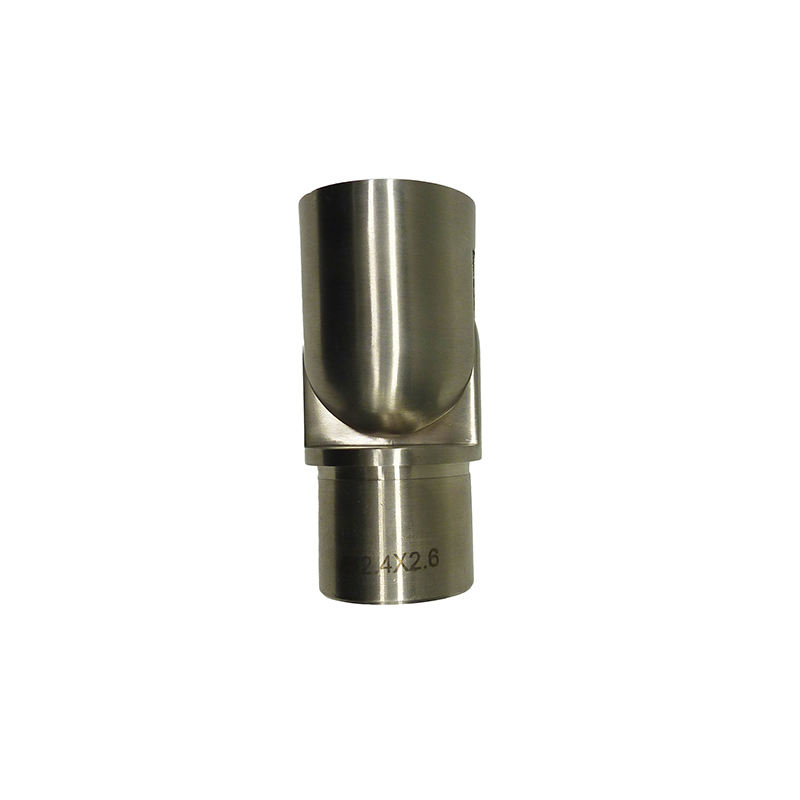 0-180 degree stainless steel adjustable flush angles/handrail elbow