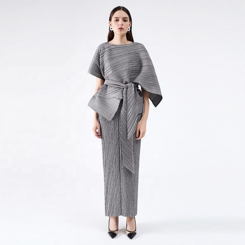 dress women party evening elegant in plus size Wholesale 100% Polyester Solid slimming suit