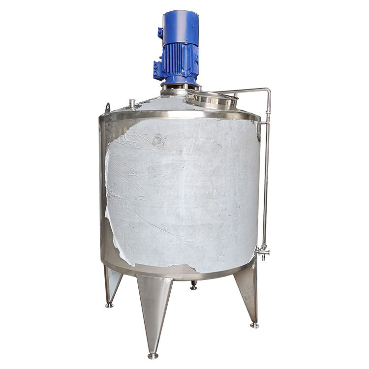 Factory Custom 500L / 1000L / 2000L High Shear Homogenizer Mixer / Mixing Tank