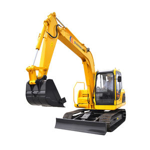China mini 8,5 t excavadora ZE85E monitor excavadora
