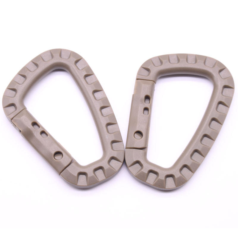 Plastics Tactical Buckle Type D Buckle Fast Hanging Mountaineering Buckle