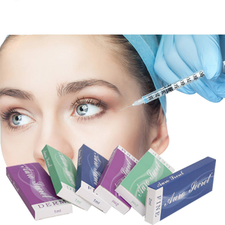 Korea cosmetic syringe buy hyaluronic acid injections facial dermal filler anti wrinkle