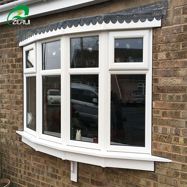 PVC profile Vinyl Awning windows or top hung window