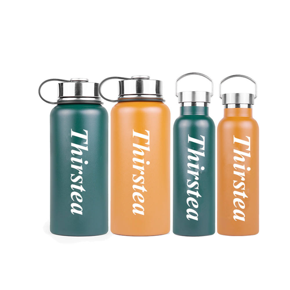 Custom hydro 18oz/ 32zo/40oz/64oz flask Outdoor Coolers thermos Stainless Steel Insulated Vacuum Flask with different lids