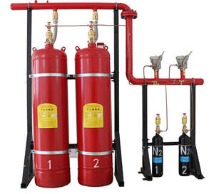 Automatic fire protection system fm200 gas cylinder fire extinguisher