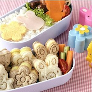 Buy Sandwich Cookie Cutters Set Bread Cookie Cutter Molds Plastic Biscuit Cutters