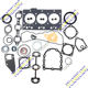 3TNE78 engine gasket kit 3TNE78 overhaul full gasket set cylinder head gasket cover crankshaft seal For Yanmar 3TNE78 engine