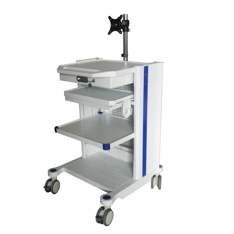Small Medical Equipment Cart 3 Layer Hospital Equipment Trolley