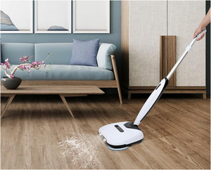 4 in 1 High Quality Cordless Dual Electric Floor Cleaning Spin Mop With Brushroll Sweeper
