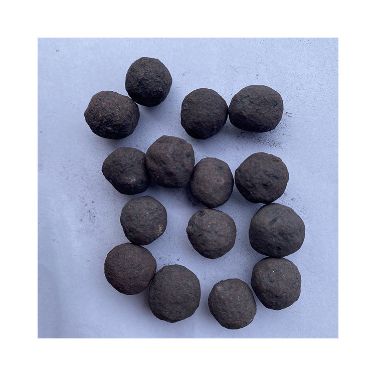 Low Powder Content Fe62 Iron Ore Pellets High Silicon Pellets