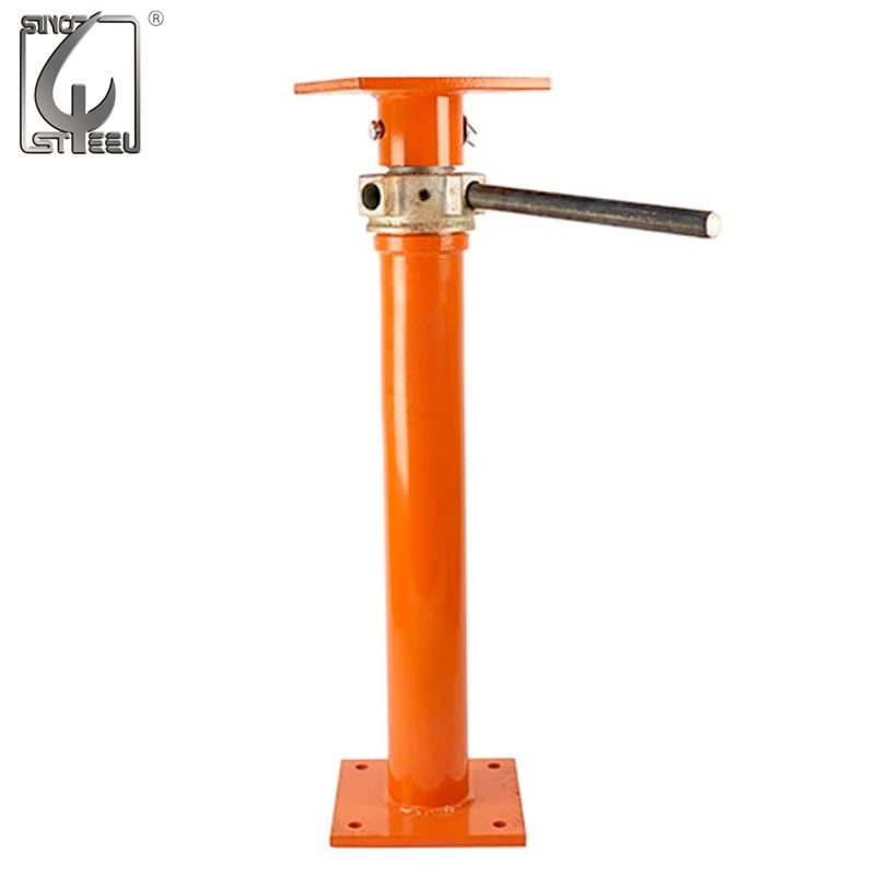 Construction Scaffolding Prop Adjustable Shoring Prop Jack Post In Building