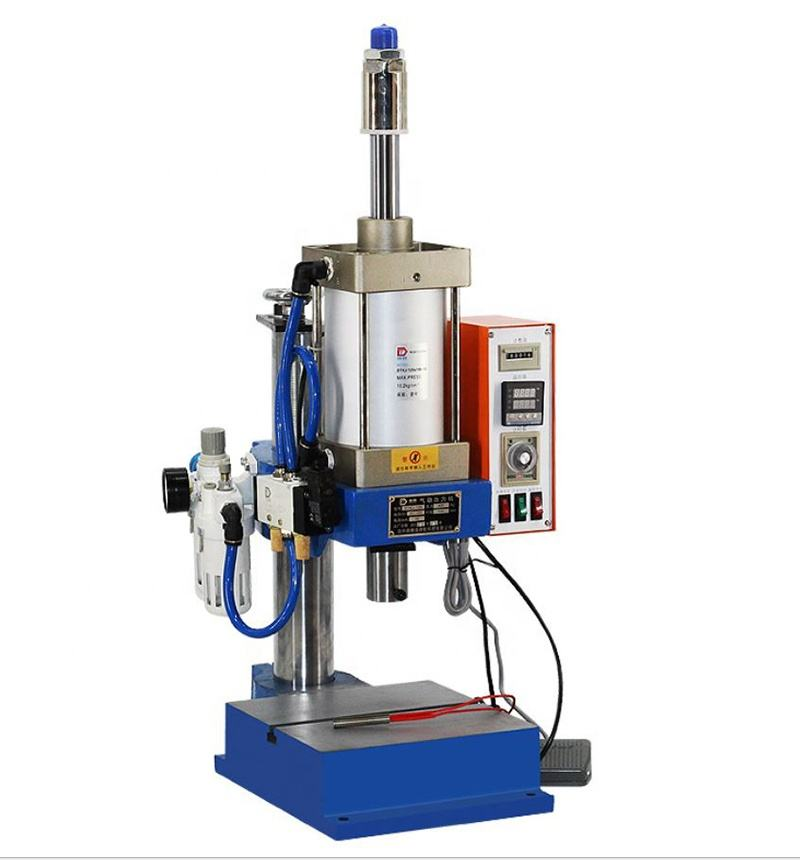 Pneumatic punching single column foot heating 63 type punching machine 200kg small riveting press punching press machine