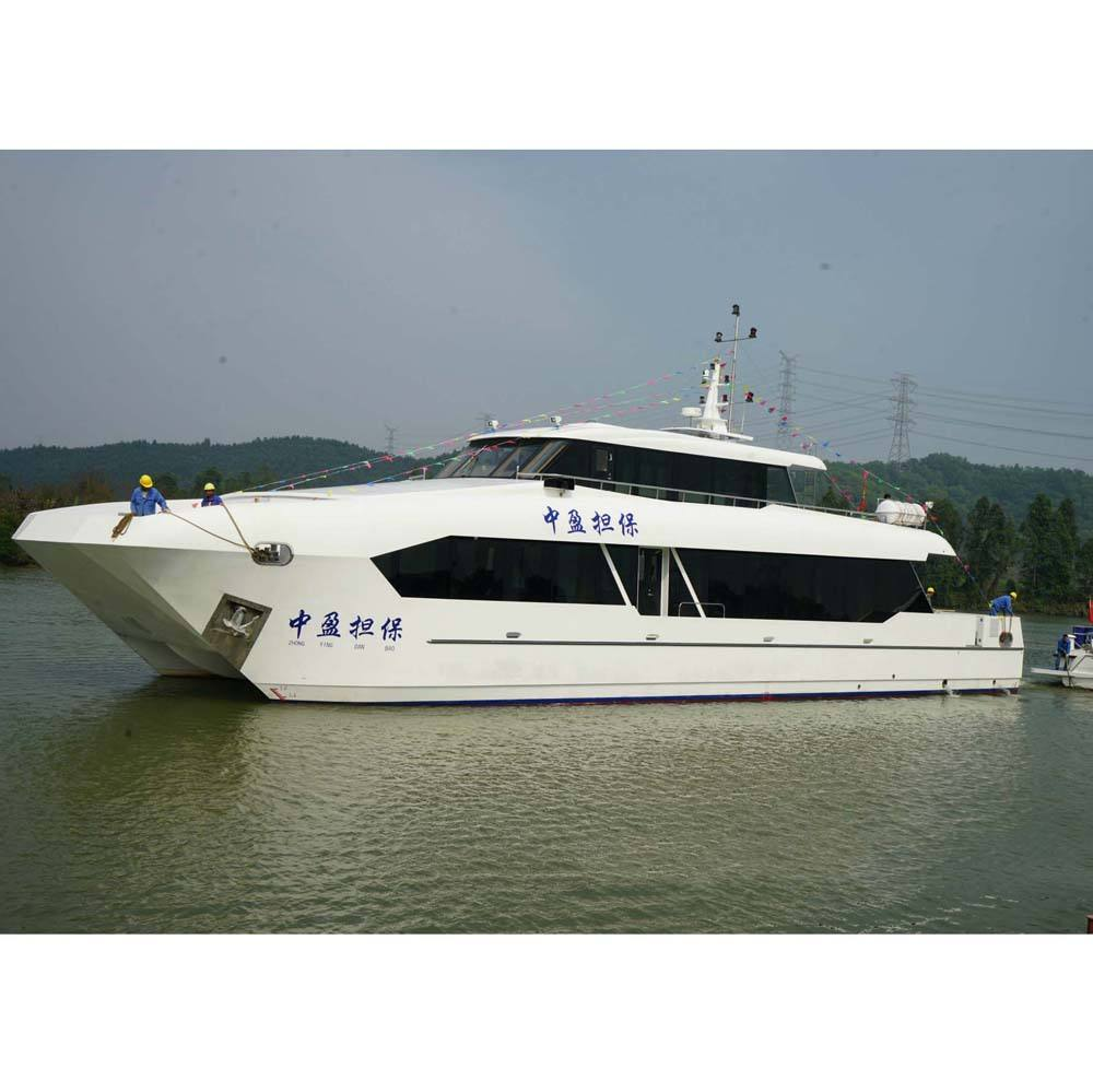 99 seats Steel Catamaran Touring aluminum boats high speed Passenger Ferry Ship