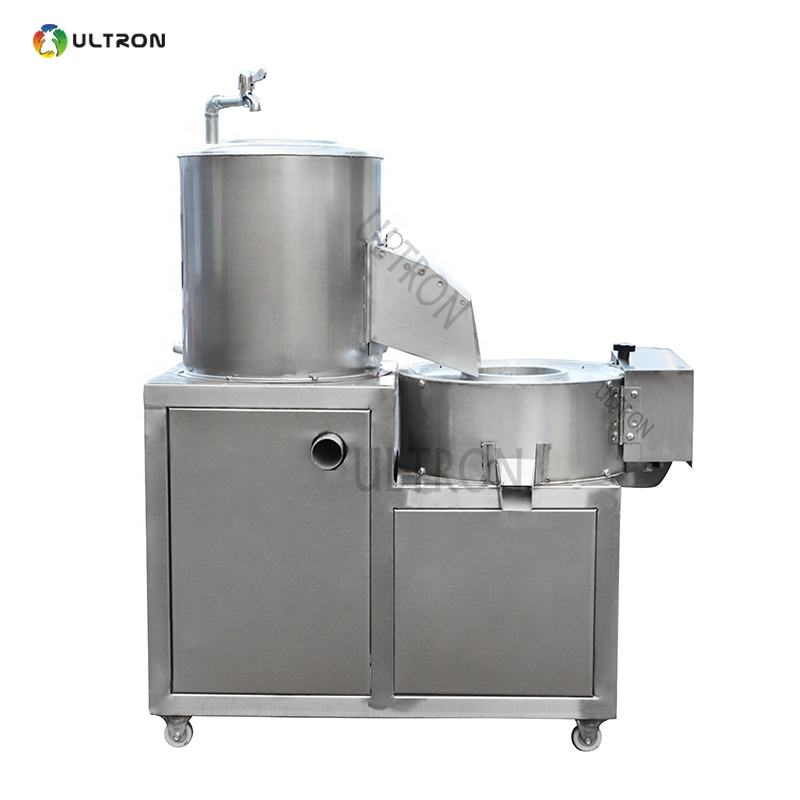 Potato chips onion cleaning peeling and cutting machine with factory supplier