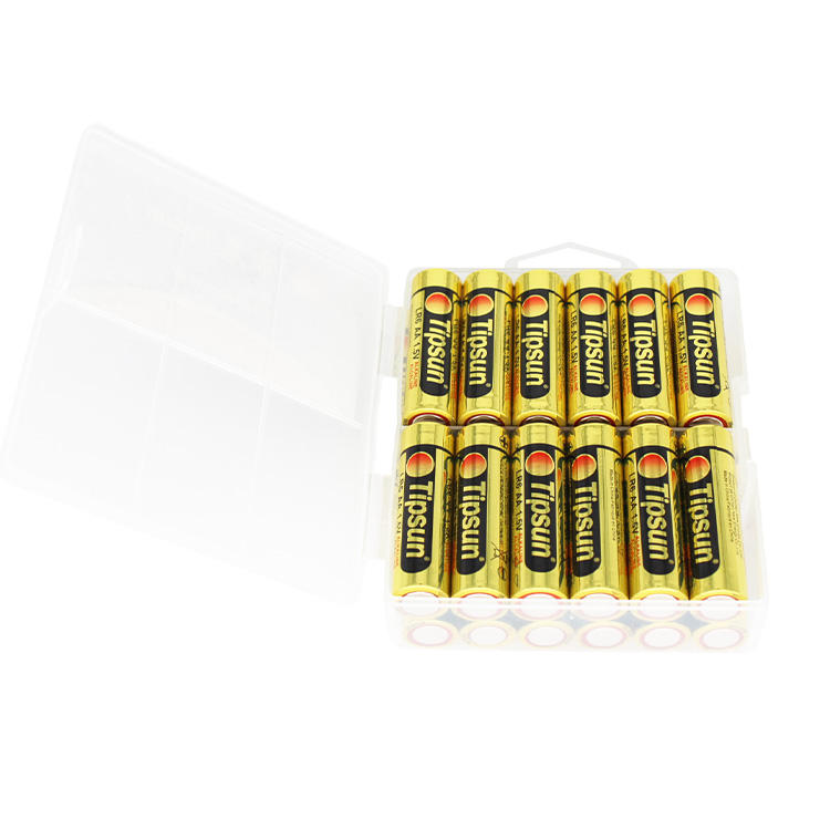 Alkaline [ Battery ] 1.5v Ultra Alkaline Battery LR6 AA Size High Quality Dry Battery