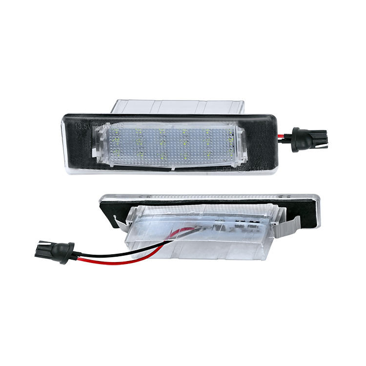 for hyundai i40 sonata 2012~ car fittings led license plate light for kia magentis optima 2005~