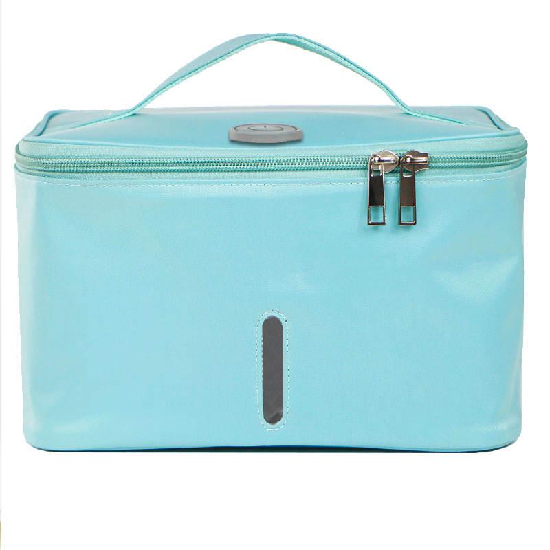 El más nuevo portátil de viaje UVC Esterilizador Bolsa Paños Sujetador Ropa interior Mujer Cuidado del bebé Caja de desinfección