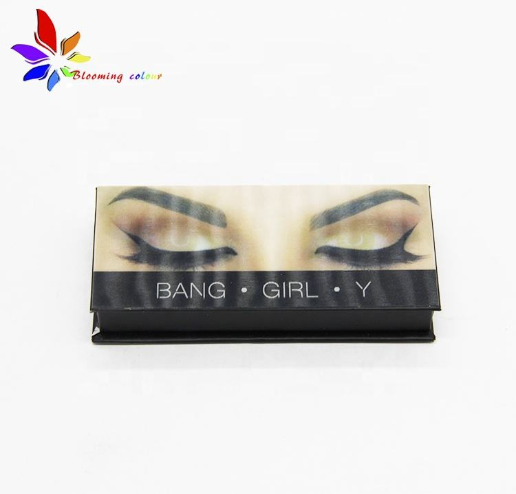Wholesale eyelash extension real faux mink eye lashes private label packaging box false 3d mink eyelashes