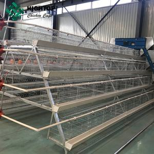 A type poultry farming 3 tiers cheap layer cage battery chicken price cages laying hens sell in algeria