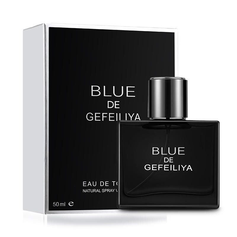 Masculine and oceanic aromas, long lasting Blue Cologne has an intense aroma man's perfume