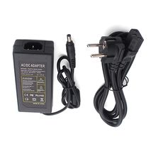 SMPS-60W-E005 EU Plug 5.5x2.5mm Double Cable Desktop Adapter 60W 12V 5A ac dc Power Supply for CCTV System