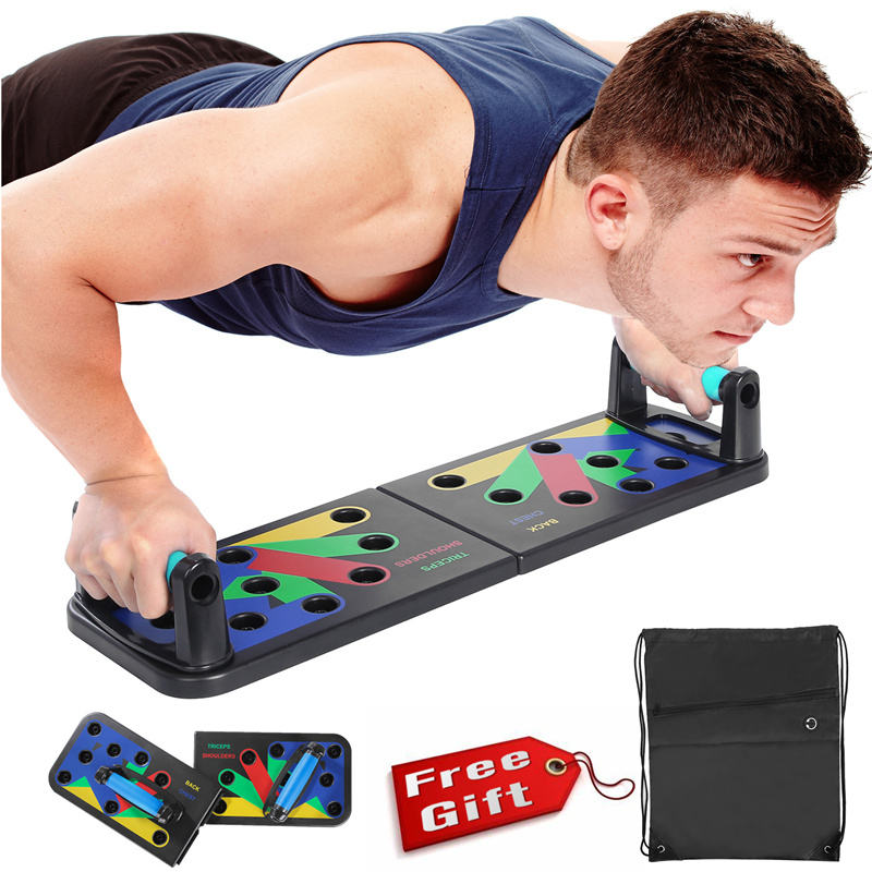 11 In 1 Push Up Rack Training Boord Buikspier Trainer Workout Oefening Sport Thuis Fitnessapparatuur Trainer Board