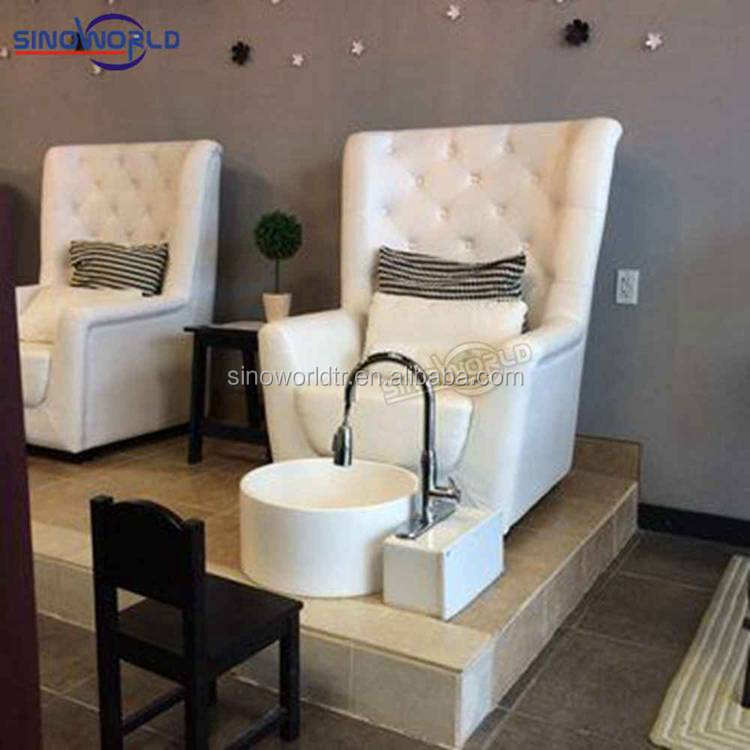 cheap dubai luxury spa deluxe electric foot massage no plumbing pedicure chair manicure